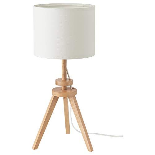 Ikea LAUTERS Lámpara de mesa, ceniza, blanco