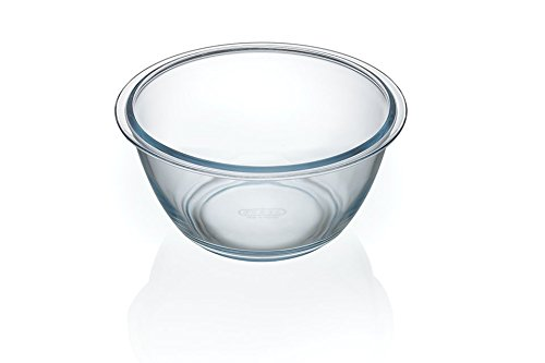 Pyrex Glas Borosilikatglas Schale Salatschüssel Schüssel Salatschale 2 Liter