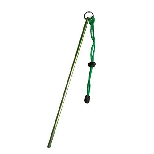IGOSAIT Agradable del Buceo con escafandra de aleación de Aluminio indicador del palillo de la Cuerda de Seguridad con la Medida de Buceo Submarino Langosta Shaker al Fabricante del Ruido Cómodo