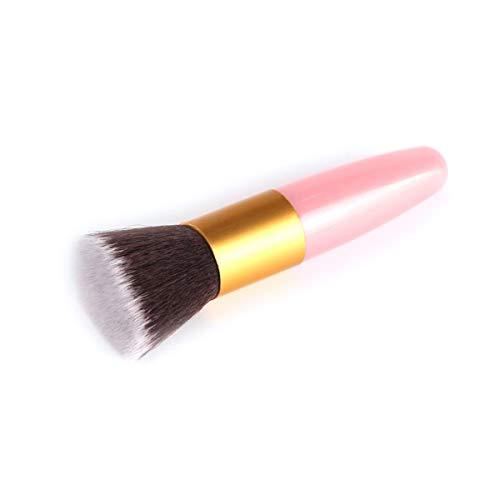 Make-up-Pinsel 1Pcs Professionelle Flache Make-up Pinsel Powder Foundation Errötet Weicher Pinsel Concealer Form Gesichts-Make Up Pinsel-Werkzeug, Haut Berühren Bürsten