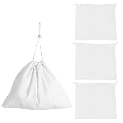 Ymiko 3Pcs Dust Proof Storage Bag Clothes Underwear Handbag Storage Drawstring Bag Pouch for Outdoor Travel Household
