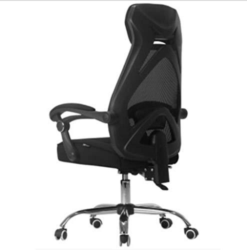 Silla de juego, el deporte de carreras silla versión actualizada de respaldo alto cuero artificial sillón de dirección, diseño giratorio libre con los brazos ajustables puede coincidir con todos los e