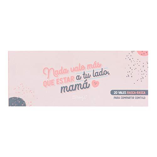 Mr. Wonderful WOA10130ES Vales para Rascar - 20 Vales para una Madre que Vale Millones