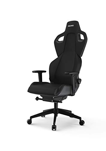 RECARO Exo Gaming Chair | Pure Black – Ergonomischer, atmungsaktiver Gaming-Stuhl mit...