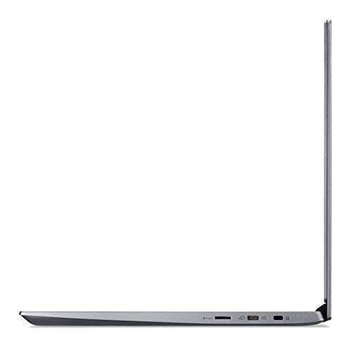 Acer Chromebook 714 (14 Zoll FullHD IPS Touchscreen matt, Aluminium Unibody, 18mm flach, extrem lange Akkulaufzeit, schnelles WLAN, beleuchtete Tastatur, Fingerprintsensor, Google Chrome OS) Anthrazit - 8