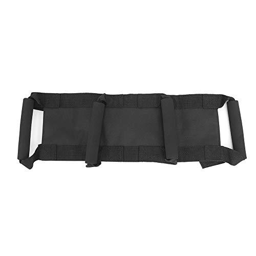 Vbest life Adjustable Waist Safety Belt, Motorcycle Waist Support Belt Protection Strap Gear in Black