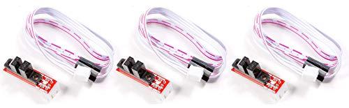 MissBirdler 3X Pezzi fotocellula Optical endstop Switch tcst2103per Arduino Raspberry Pi