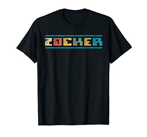 Zocker, Gamer, Spieler! - Gaming, zocken, Konsole & PC T-Shirt
