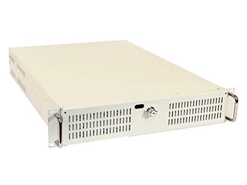 Aktivatech A2100WX-USB, 19 Zoll (19') Rackmount Server Gehäuse, 2U (2HE), inkl.USB 2.0 für ATX M/B,ohne Netzteil
