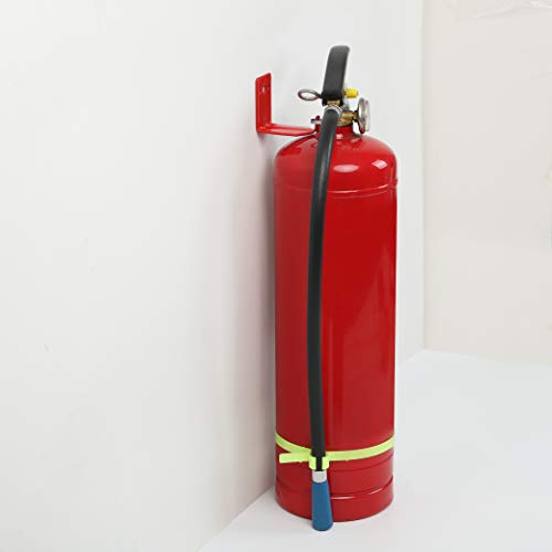 4 Pack Of Fire Extinguisher Mount, Wall Hook, Fire Extinguisher bracket up to 40 lbs Extinguishers, suitable for big and small fire extinguishers, holder for dry chemical and water extinguishers