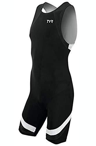 TYR Carbon Zip Back Tri Suit (Men)