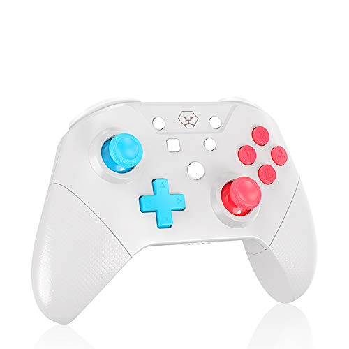 Switch Controller for Switch/Switch Lite, Supports NFC, Turbo Function, Gyro, Gravity Sensor and Dual Vibration, Wireless Switch Pro Controller Compatible with PC Games
