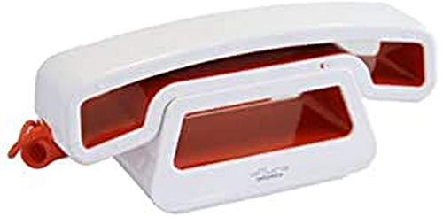 Swissvoice CH01 - Auricular con base para teléfonos móviles, PC y tablets, color rosa