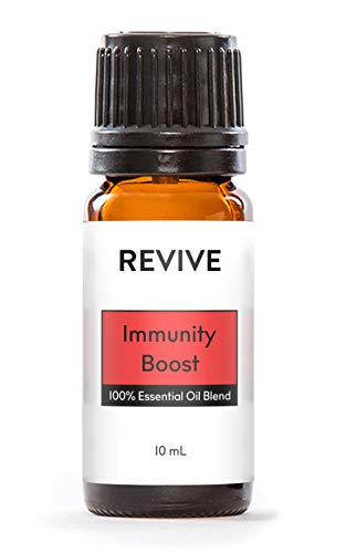 Revive Essential Oils - Immunity Boost 10 mL -100% Pure Therapeutic Grade, for Diffuser, Humidifier, Massage, Aromatherapy, Skin & Hair Care - Unrefined Oils with No Fillers