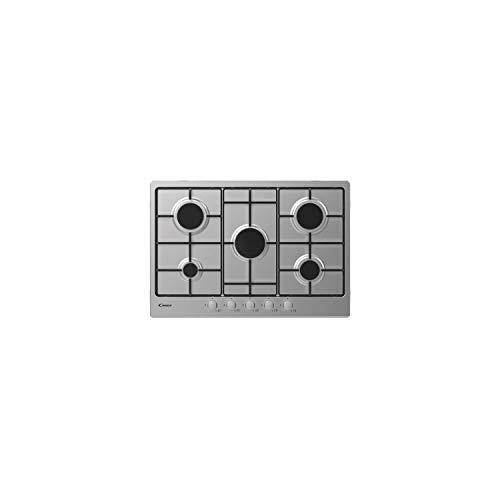 Piano cottura a Gas 5 Fuochi da 75 cm colore inox