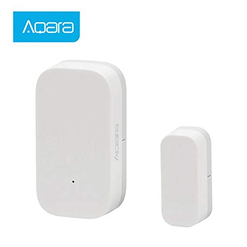Tür Fenster-Sensor, Aqara Tür- und Fenstersensoren Home Alarm System Starter Kit Homekit Smarten Geräte, ZigBee APP Steuerung Einfache Installation with Mijia and Apple HomeKit APP