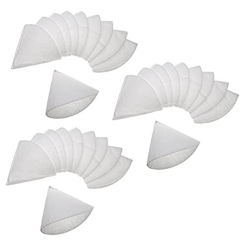 vhbw 30x filtro a cono per impianto di ventilazione ad es. compatibile con Helios, Maico, Pluggit, Zehnder - Filtro di scarico G4, DN 125, bianco