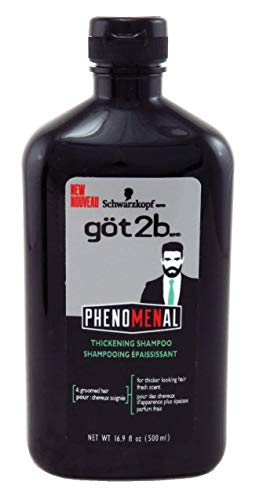 Got2B Phenomenal Shampoo Thickening 16.9 Ounce (500ml) (2 Pack)