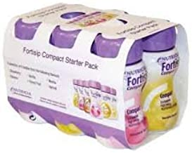 FORTISIP COMPACT STARTER PK 125ML 6PK Estimated Price : £ 13,79