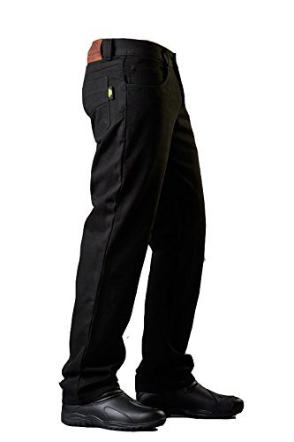 Neo Jeans Black Motorcycle Kevlar Rider Riding Pants