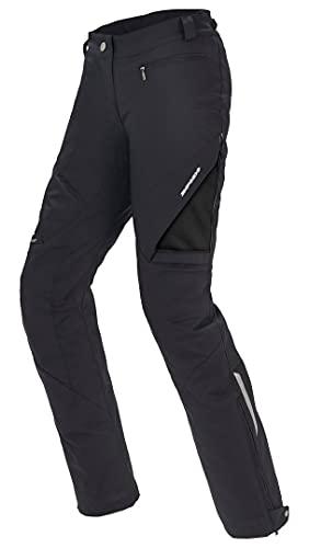 Spidi Damen-Motorradhose J75-026 stretch, Textil, Schwarz