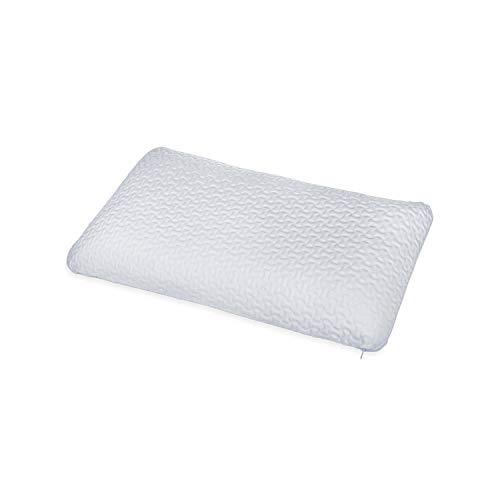 ABAKUHAUS Bauchschläferkissen aus Gel Schaum, Maschinenwaschbar Bezug Allergikergeeignet Antimilben Memory Foam Atmungsaktiv durch Belüftungslöchern Richtige Höhe für HWS Beschwerde