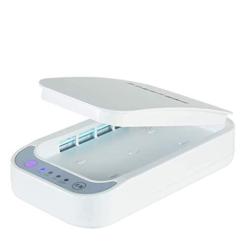 Pkfinrd Caja de esterilización de ozono ultravioleta con función de aromaterapia. La tasa de esterilización es 99,99% utilizada para teléfonos móviles joyas clave y otros artículos