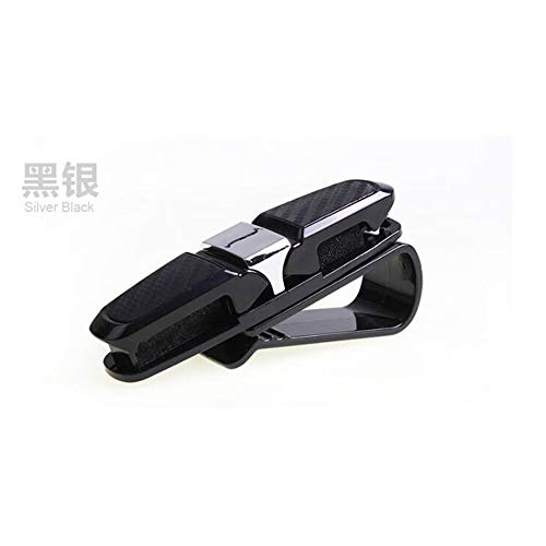 Holder Geval van glazen brillen Holder Cover Auto Zonneklepclip Zonnebril Stand Auto accessoires,2