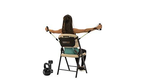 Noonchi V2 All Chair Workout, verwandeln Sie jeden Stuhl in ein Fitness-Studio, Heimtraining, Büro, überall im Fitnessstudio