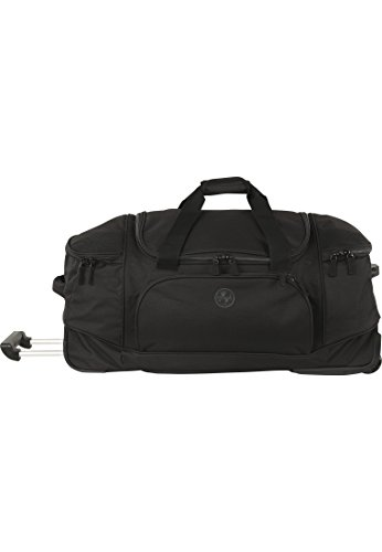 Franky Travel Wheeled Travel Bag with Rucksack Function 75 cm Black