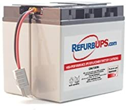 APC Smart-UPS 1500 (SUA1500) Compatible Replacement Battery Kit with Harness