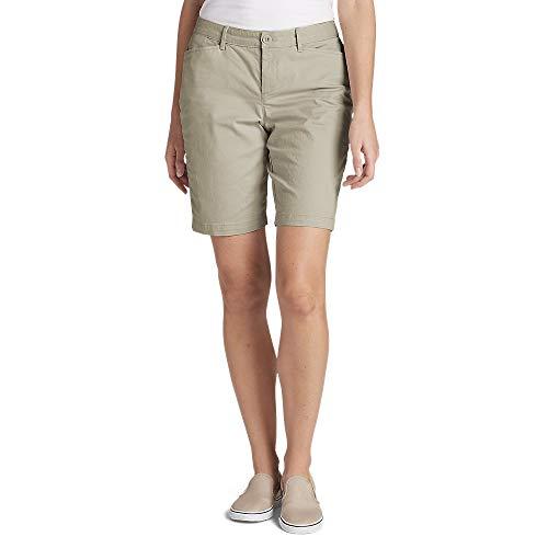 Eddie Bauer Damen-Shorts aus Stretch, kurvige Passform, 25,4 cm -  Blau -  40