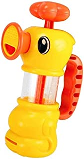 Zpong Kids Swimming Water Toy Baby Bath Toys for Kids Water Pistol Spray Pump Duck Swimming Pool Bathtub Pumping Duck Bath...