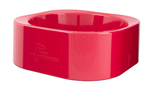 PET WEIGHTER Gamelle rouge uniquement pour chien PetWeighter - Ne se renverse pas, ne bouge pas.