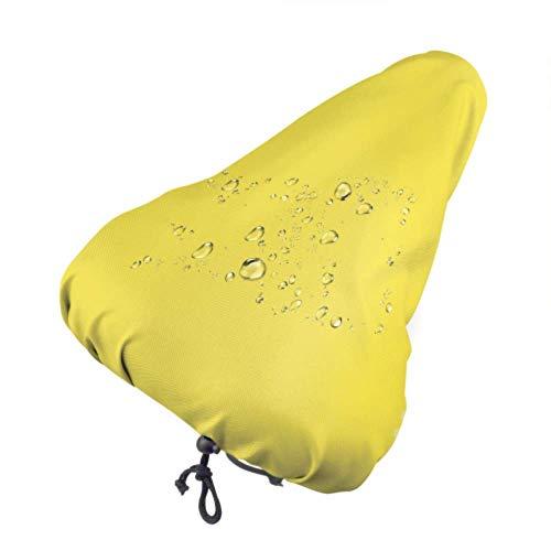 N\A Bunte Sitzbezüge Gelbe Tulpe Blumen im Frühjahr Tragbarer Sitzbezug Fahrrad Kindersitz Regenbezug Mit Kordelzug, Regen- und Staubbeständig für die meisten Fahrradsättel