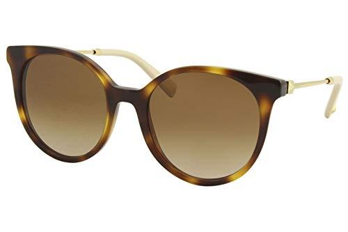 Valentino Gafas de sol VA4069 501113 Gafas de sol Mujer color Marrón Habana tamaño de lente 53 mm