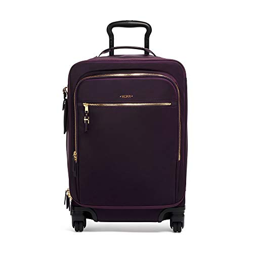 TUMI - Voyageur Tres Léger International Carry-On Luggage - 21 Inch Rolling Suitcase for Men and Women - Blackberry