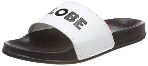 Globe Herren Unfazed Slide Skateboardschuhe, Weiß (White/Black), 43 EU (Herstellergröße:10)