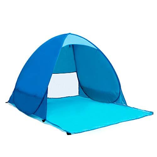 LX Tienda de campaña al aire libre 2 personas velocidad abierta ultra ligera autoconducción excursión camping protector solar playa pequeña tienda de campaña, A