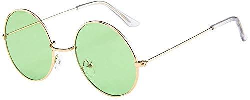 SFHTFTRGJRYJ Frauen Männer Vintage Retro Brille Unisex Mode Living Mode Kreis Sonnenbrille Brillen Sonnenbrillen (Color : C, Size : Size)