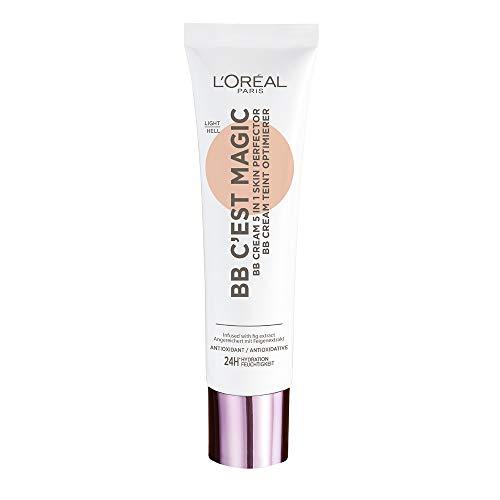 L Oréal Paris BB Cream C est Magic, BB Cream Idratante e Uniformante, Colore 02 Light