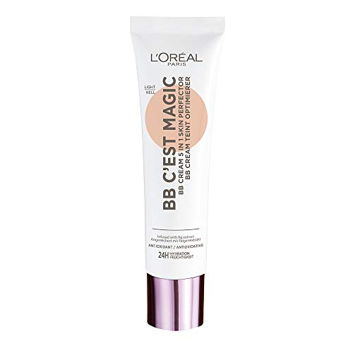 L'Oréal Paris BB Cream C'est Magic, BB Cream Idratante e Uniformante, Colore 02 Light