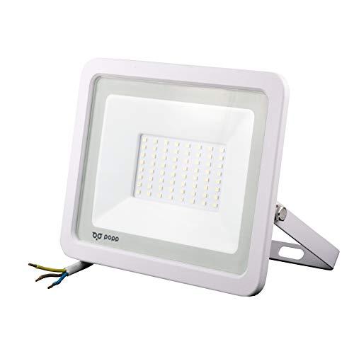 POPP Foco Proyector LED 50W para uso Exterior Iluminación Decoración...