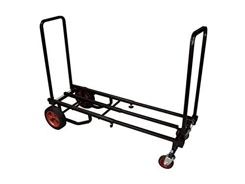 ROADINGER Carro de transporte Stage Donkey XL | Carro de transporte plegable...