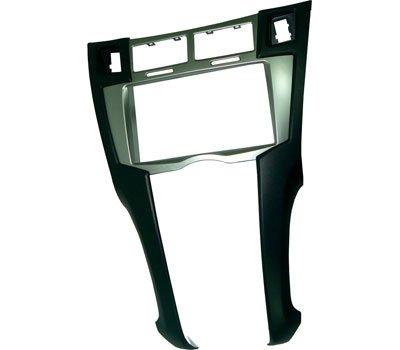 Masterline – Façade d'autoradio 2 DIN – Adaptateur radio avec façade métallique – Fixation à la voiture – Consultez la section « Description » pour vérifier la compatibilité avec votre véhicule