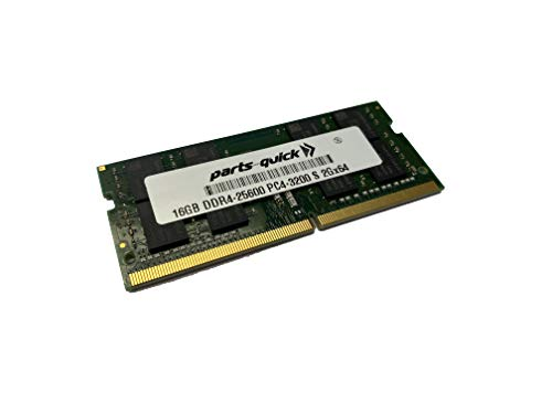 parts-quick 16GB Memory for HP Pavilion x360 Convertible Laptop PC 14m-dw1000 Laptop PC Series Compatible DDR4-3200 SoDIMM RAM Upgrade -  16GB-DDR4-3200-S-HP-430001455