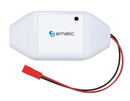Ematic Smart Garage Door Opener - Voice Control, Amazon Alexa, Google Home, Mobile App, No Hub Required, WiFi Connect