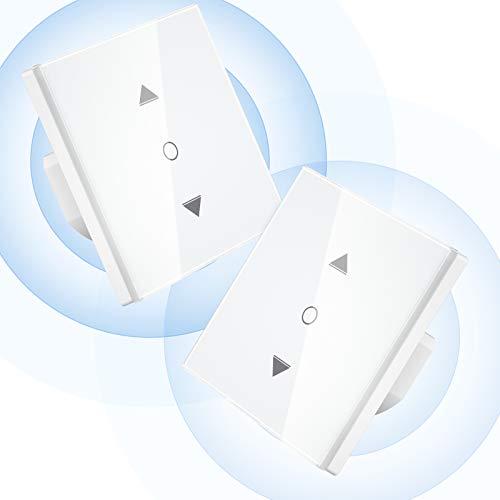 【Upgrade Porcentaje】 Interruptor Persianas Wifi, Maxcio Interruptor Persianas Control por Porcentaje de...
