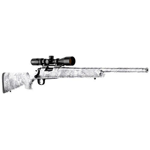 GunSkins Rifle Skin - Premium Vinyl Gun Wrap with Precut Pieces - Easy to Install and Fits Any Rifle - 100% Waterproof Non-Reflective Matte Finish - Made in USA - Kryptek Yeti