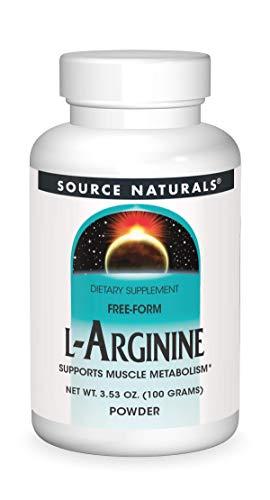L-Arginine, Powder 100 gm by Source Naturals